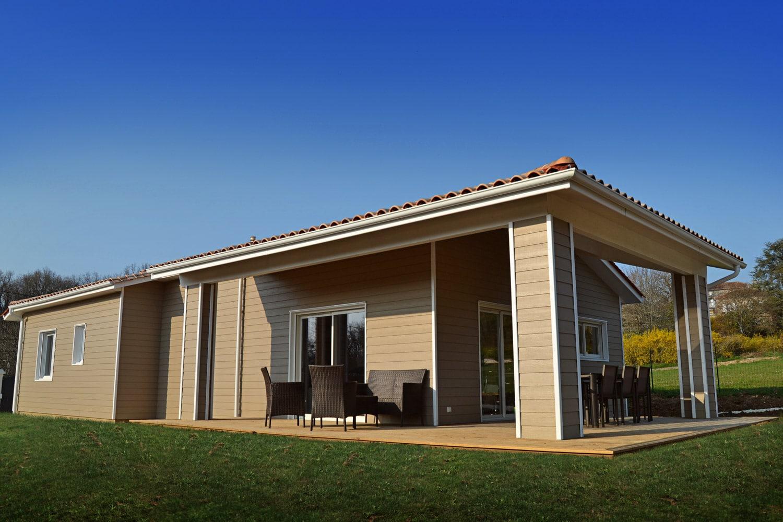 maison bois personnalis e surface habitable 99 89 m2 en charente. Black Bedroom Furniture Sets. Home Design Ideas