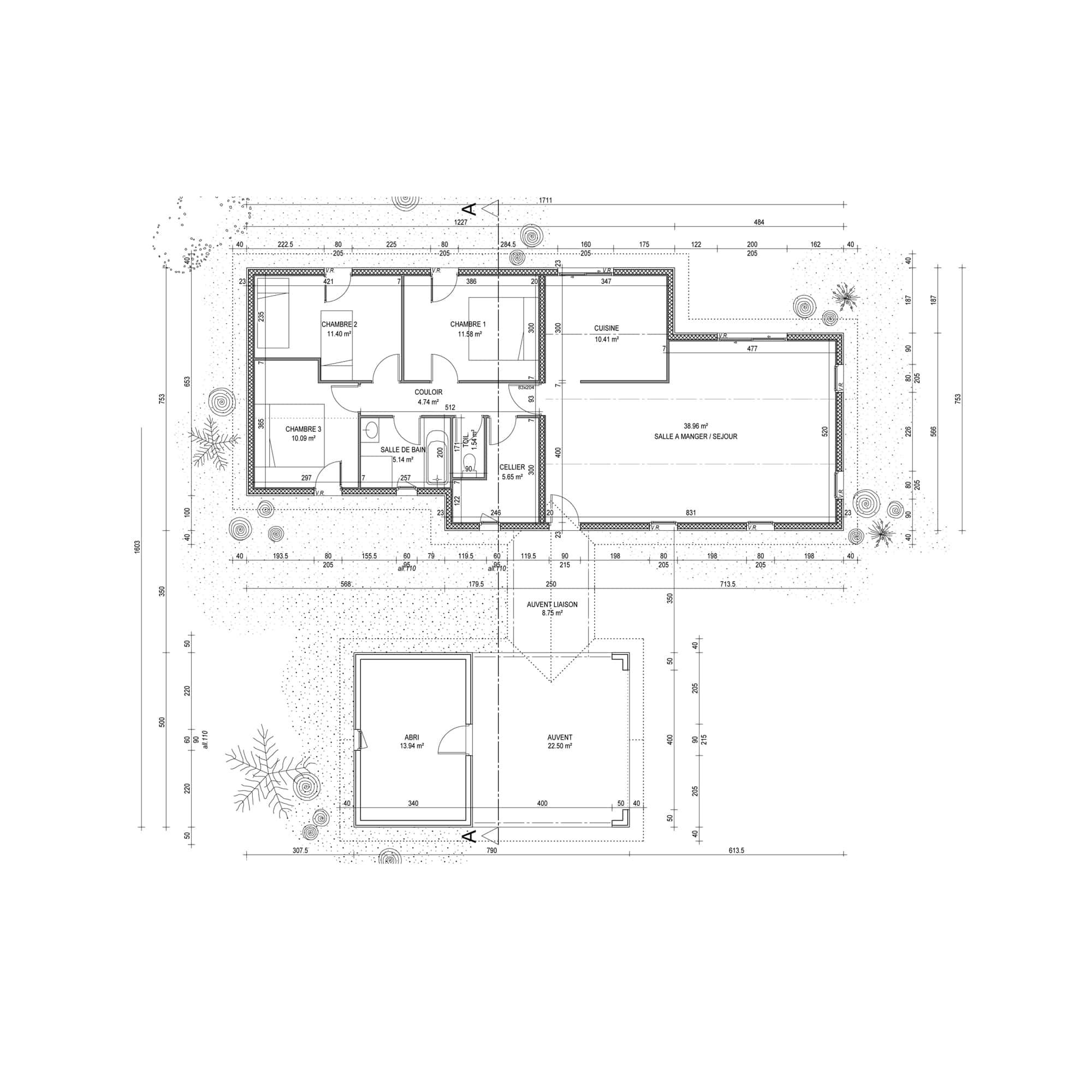 technique construction maison ossature bois esprit bois. Black Bedroom Furniture Sets. Home Design Ideas